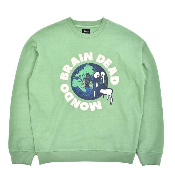 Brain Dead Mondo Crewneck Sweatshirt