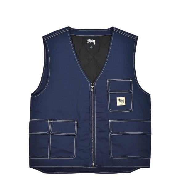 Stussy Poly Cotton Work Vest