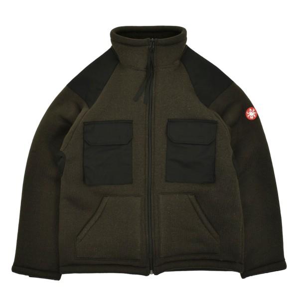Cav Empt Boa Fleece Zip Up Jacket