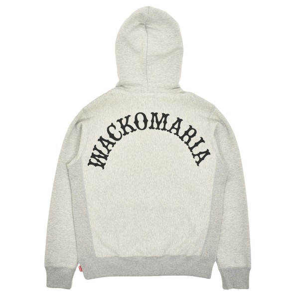 Wacko Maria Heavyweight Pullover Hooded Sweatshirt Type-2