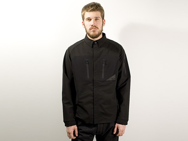 White Mountaineering BLK Pertax Grey Ghost Shirt