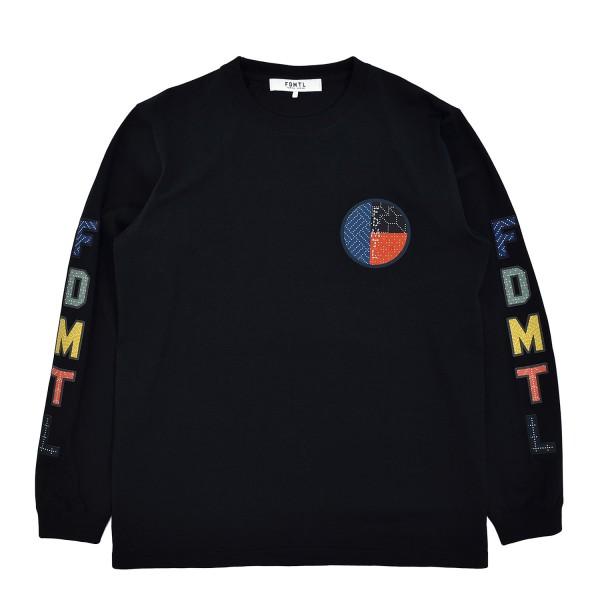 FDMTL Circle Sashiko Logo Longsleeve T-Shirt