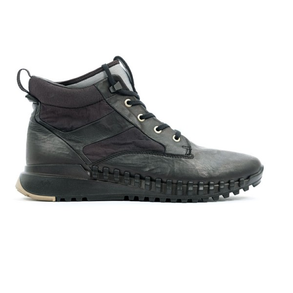 Stone Island Leather Boots
