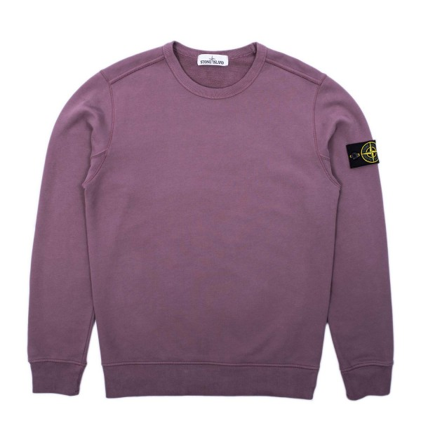 Stone Island Brushed Cotton Crewneck Sweatshirt