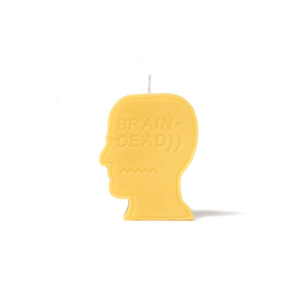 Brain Dead Logo Candle
