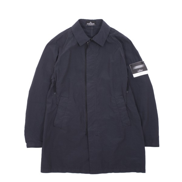Stone Island Shadow Silon Garment Dyed Single Layer Coat