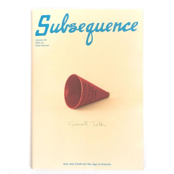Visvim Subsequence Magazine Vol. 4