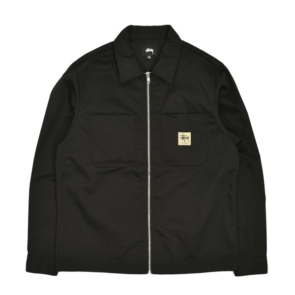 Stussy Zip-Up Work Shirt