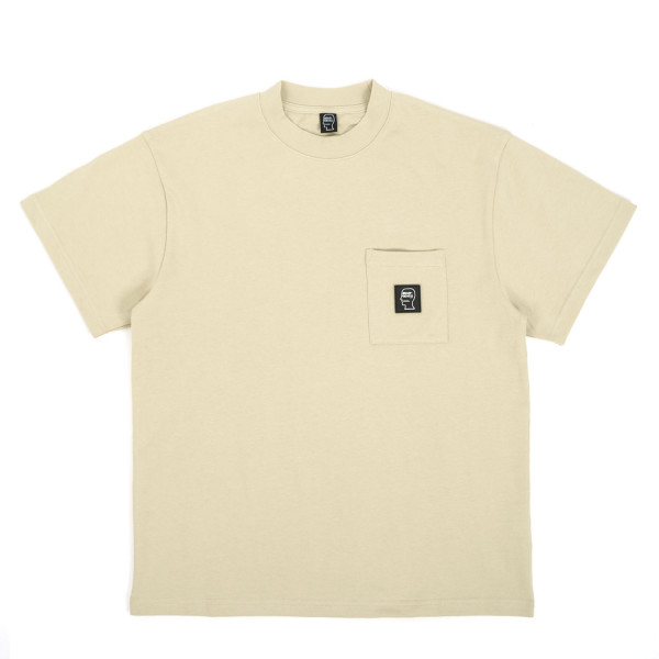 Brain Dead Heavyweight Jersey Mockneck Pocket T-Shirt