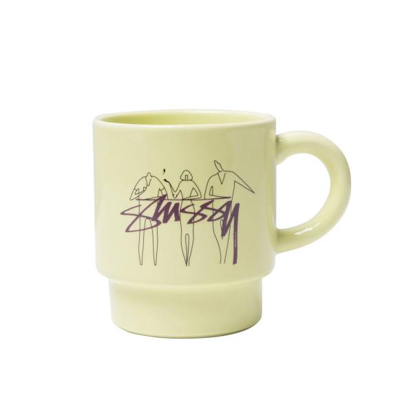 Stussy 3 People Stacking Mug
