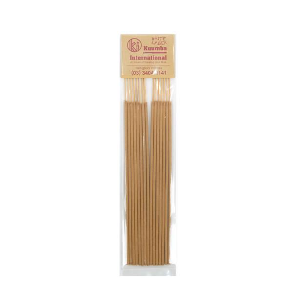 Kuumba Incense Sticks Regular White Amber