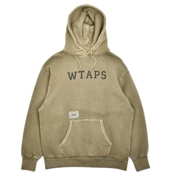 Wtaps College Design Hooded 03 Sweatshirt