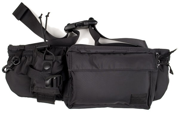 b20a431a64 Head Porter Black Beauty Waist Bag