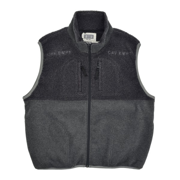 Cav Empt Fleece Zip Vest