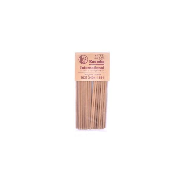 Kuumba Incense Sticks Mini White Amber