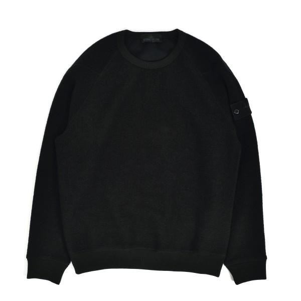 Stone Island Terry Cotton-Wool Ghost Piece Sweatshirt