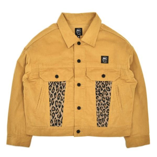 Brain Dead Corduroy Leopard Trucker Jacket