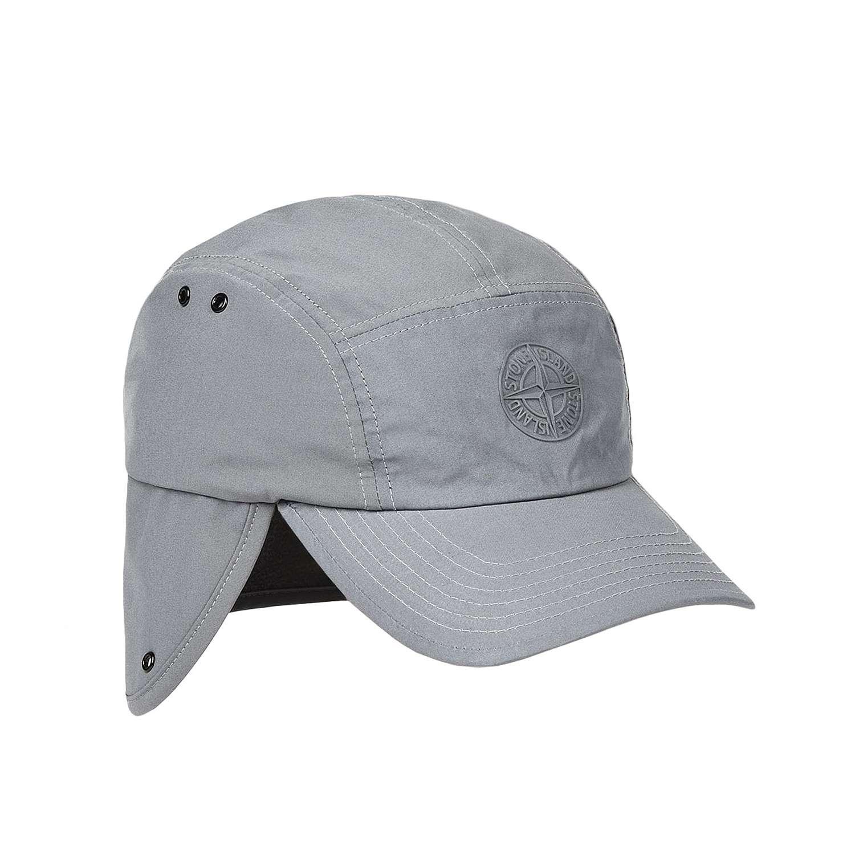Stone island black baseball cap