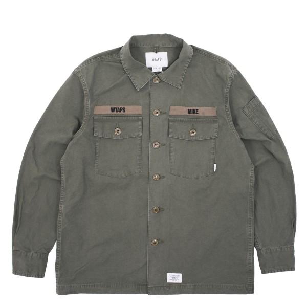 Wtaps Buds Longsleeve 02 Shirt Gabardine
