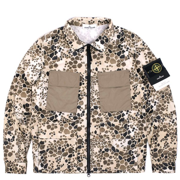Stone Island 50 FILI Alligator Camo Jacket