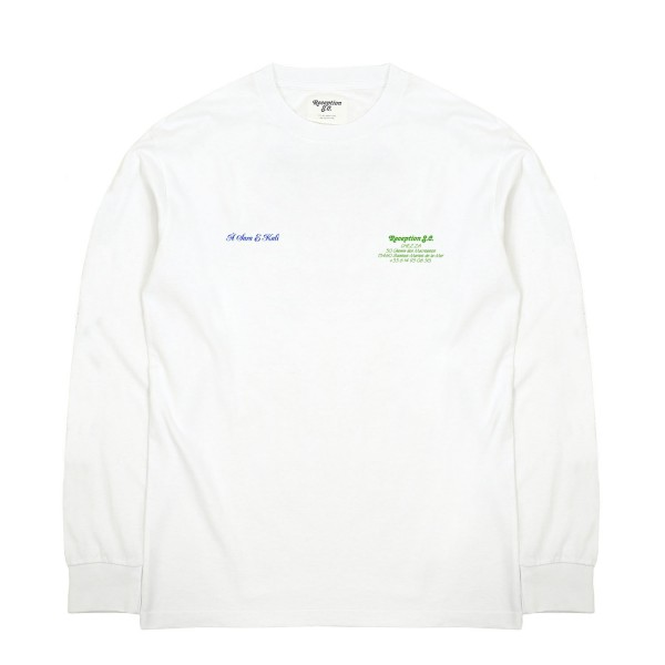 Reception S.C Chez Za Longsleeve T-Shirt