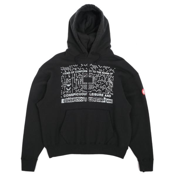 Cav Empt Consumption Heavy Hooded Sweatshirt