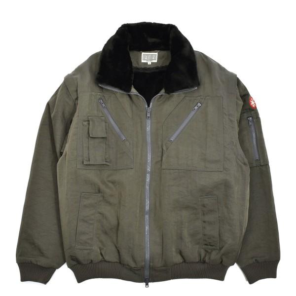 Cav Empt Lined Utility Zip Jacket