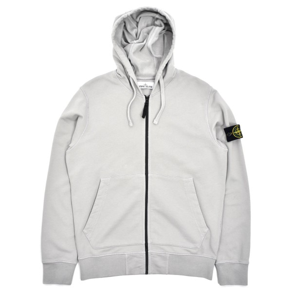 Stone Island Zip Hooded Sweatshirt