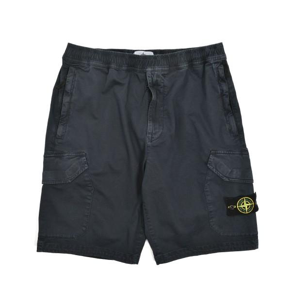 Stone Island Garment Stringthrough Bermuda Shorts