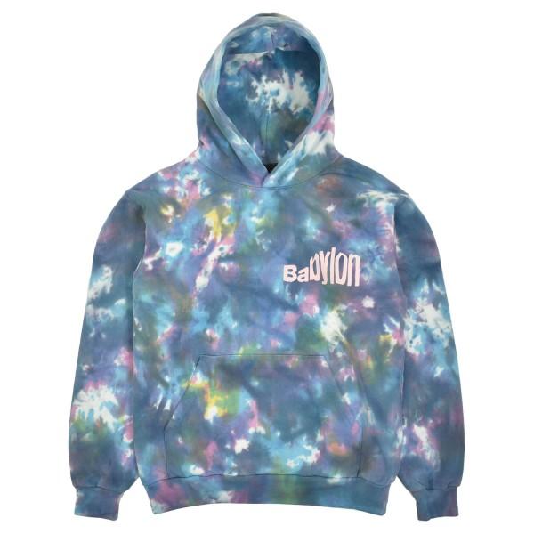 Babylon Warp Dyed Hooded Sweatshirt