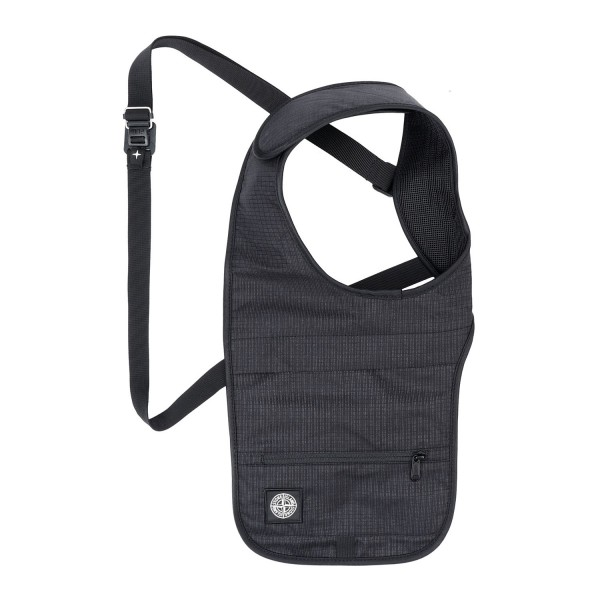 Stone Island Reflective Weave Ripstop Shoulder Bag