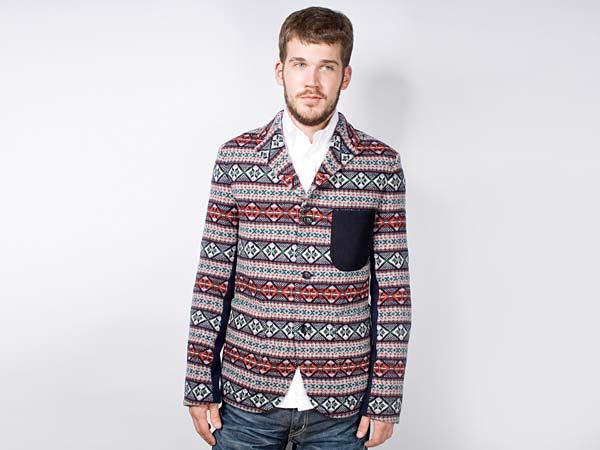 Comme des Garcons Junya Watanabe Man Fair Isle Knit Wool