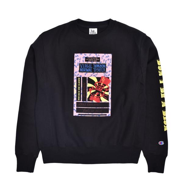 Virgil Normal Tape Minded Crewneck Sweatshirt