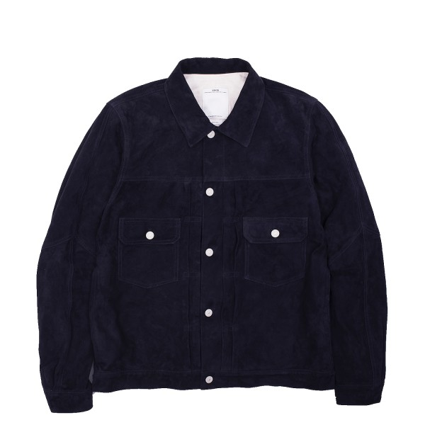 Visvim 101 Jacket IT Goat Suede