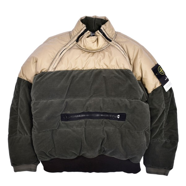 Stone Island Cotton Velvet Down-TC Jacket