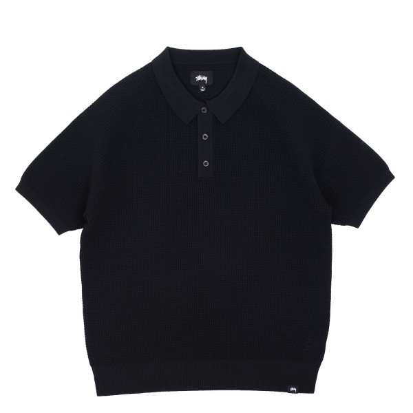 Stussy Kingston Shortsleeve Polo Sweater