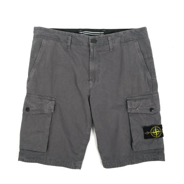 Stone Island Garment Dyed Bermuda Shorts
