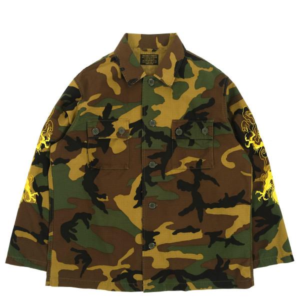 Wacko Maria Tim Lehi Woodlandcamo Army Type-1 Overshirt