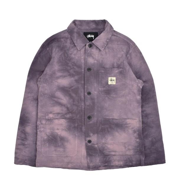 Stussy Overdyed Seersucker Chore Jacket