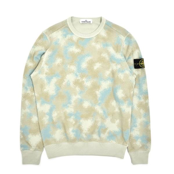 Stone Island Camo Devore Crewneck Sweatshirt