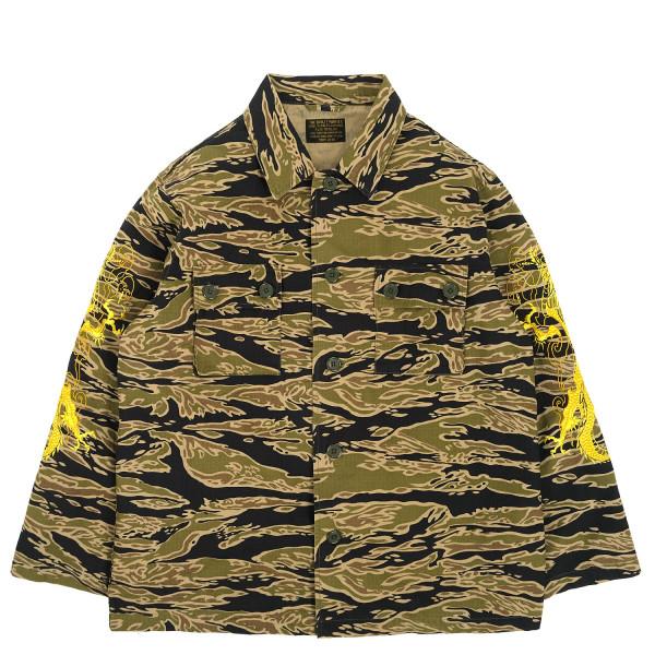 Wacko Maria Tim Lehi Tigercamo Army Type-1 Overshirt