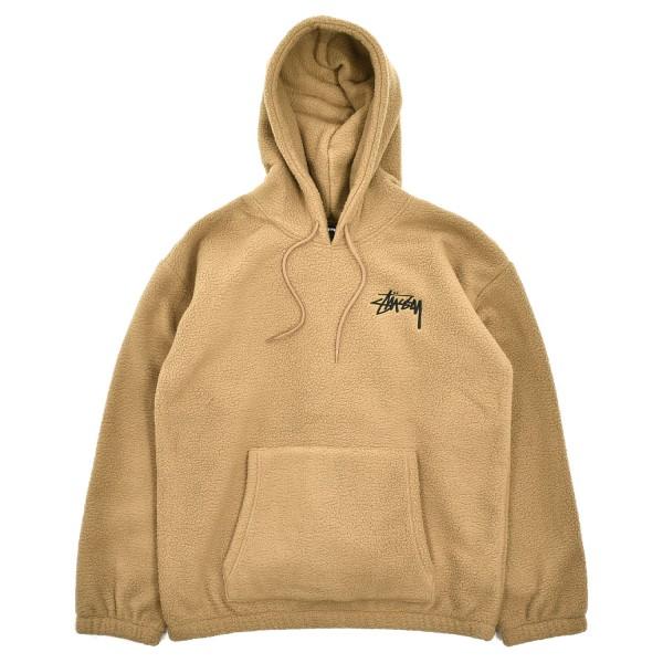 Stussy Bronson Polar Fleece Hooded Sweatshirt