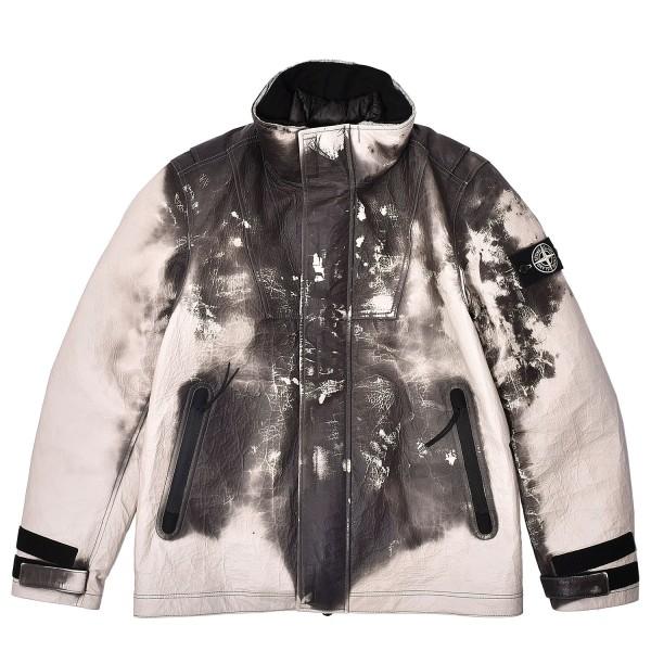 Stone Island Ice Jacket in Dyneema Bonded Leather