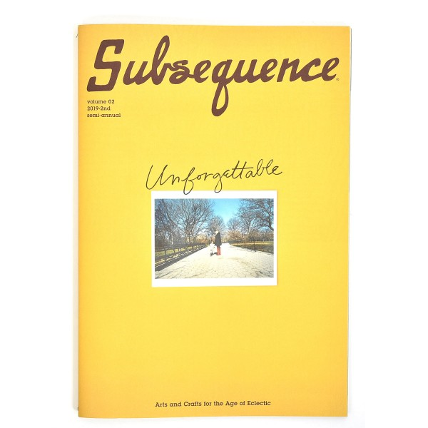 Visvim Subsequence Magazine Vol. 2