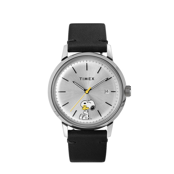 Timex Marlin Automatic x Peanuts Snoopy and Woodstock