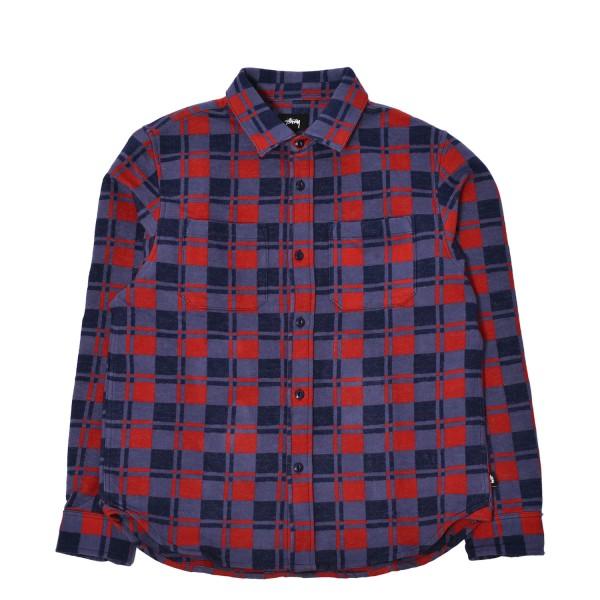 Stussy Brent Flannel LS Shirt Jacket