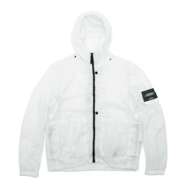 Stone Island Shadow Hyper Light Membrana-TC Hooded Jacket