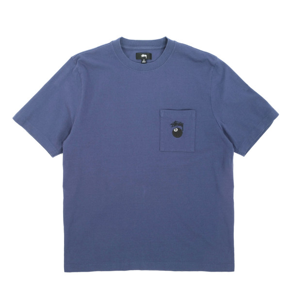 Stussy 8 Ball Pocket Crew T-Shirt