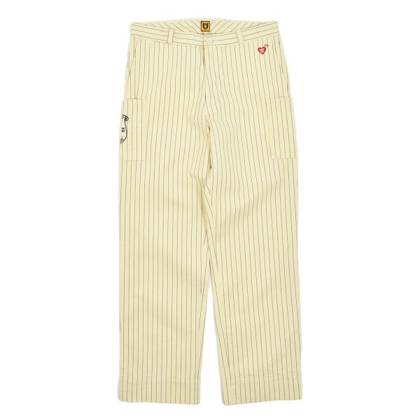 Human Made Striped Work Trousers