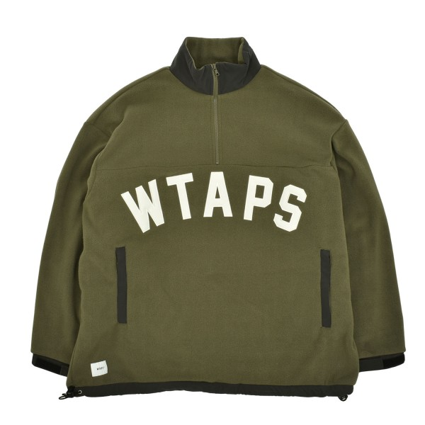 Wtaps Player 02 Half Zip Pullover Jacket